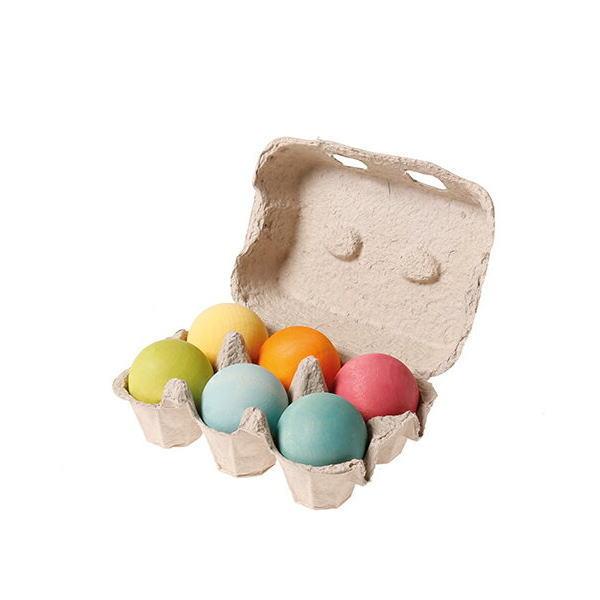 GM ボールパステル 木のおもちゃ GRIMM'S社 グリムス ドイツ 積木 積み木 つみき 木製 知育 玩具