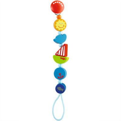 HAビードクリップ シップ 木のおもちゃ HABA ハバ おしゃぶり 落下防止 赤ちゃん