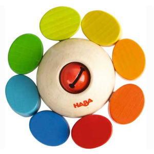 ラトル カラーフラワー 木のおもちゃ ハバ HABA おしゃぶり ラトル 歯固め ベビー