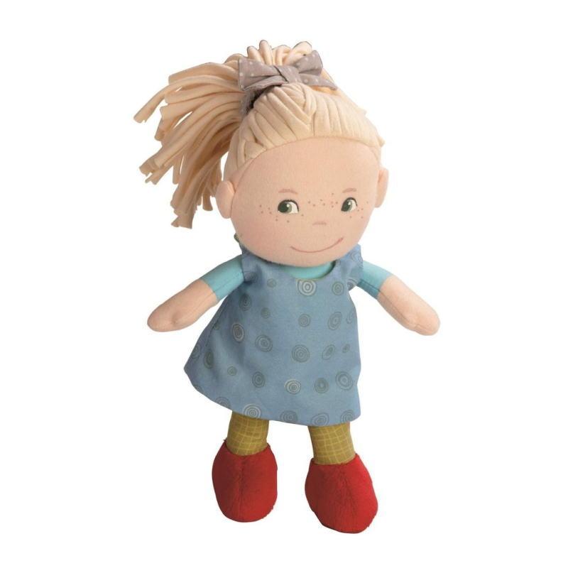 缶入りドール おすましミレ 人形 ままごと ごっこ 女の子 布のおもちゃ 玩具 知育 HABA ハバ ドイツ 出産 御祝
