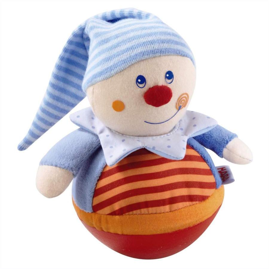 おきあがり人形・キャスパー HA5849 人形 ままごと ごっこ 女の子 布のおもちゃ 玩具 知育 HABA ハバ ドイツ 出産 御祝