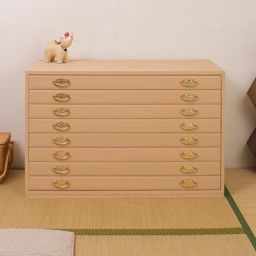 総桐衣装タンス 8段タイプ 桐たんす 桐タンス 桐チェスト 桐箪笥 桐衣装箱 着物収納 完成品 国産品