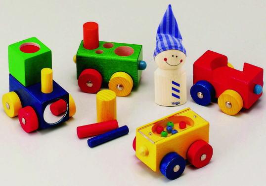 木のおもちゃ ★よちよちトレイン★ 積木 積み木 つみき ベビー