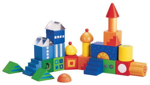 HA 積木 ファンタジー 木のおもちゃ ベビー用 ブロック 積木 積み木 つみき 木製 知育