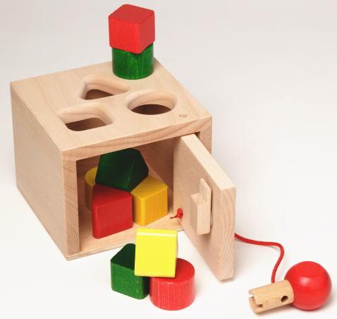 キーボックス 木のおもちゃ 積木 積み木 つみき ブロック 木製 知育