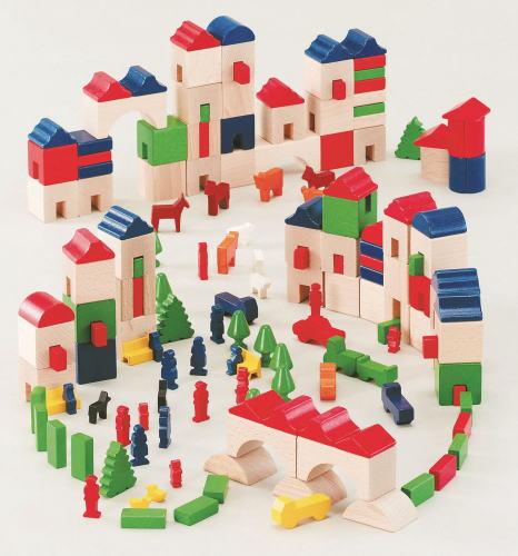 木のおもちゃ ★アムステルダム★ 積木 積み木 つみき 木製 知育