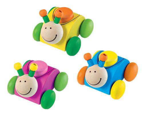 ブーブーロリーナ ベビー用 木のおもちゃ セレクタ SELECTA 出産 祝 赤ちゃん