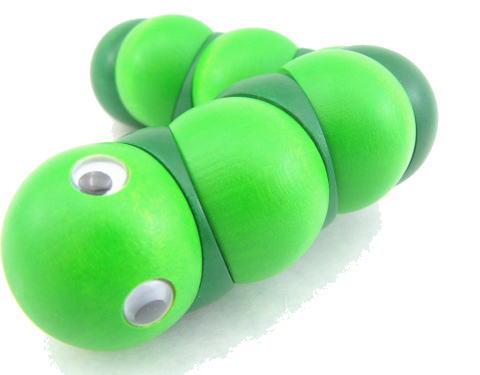 ネフ社 ジュバ 緑 木のおもちゃ ベビー