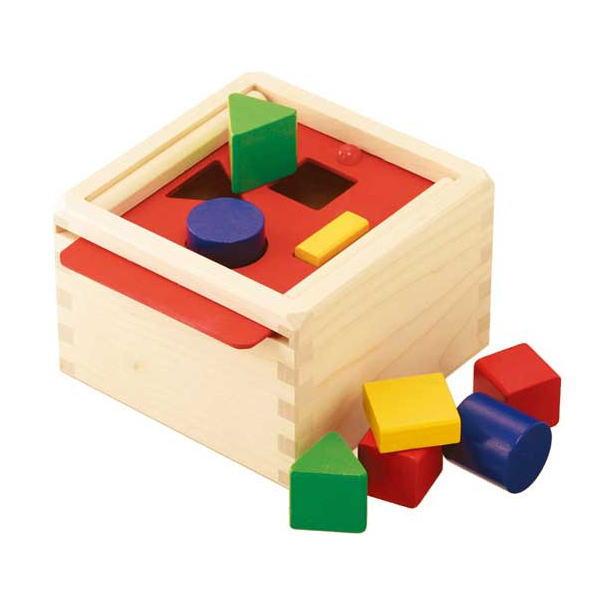 セレクタかたちの箱 木のおもちゃ 積木 積み木 つみき 木製 知育