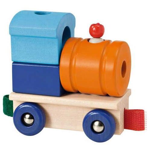 レール&ロード用汽車 木のおもちゃ 積木 積み木 つみき 木製 知育