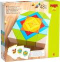 ハバ・モザイクブロック HA305459 木のおもちゃ 積み木 積木 知育 ブロック 玩具 つみ木 3歳 3才 出産 御祝 誕生日 プレゼント クリスマス HABA ハバ ドイツ
