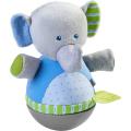 おきあがり人形・エレファント HA305824 ベビー 赤ちゃん 人形 布のおもちゃ 玩具 知育 HABA ハバ ドイツ 出産 御祝