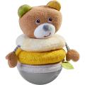 おきあがり人形・ベアー HA305825 ベビー 赤ちゃん 人形 布のおもちゃ 玩具 知育 HABA ハバ ドイツ 出産 御祝