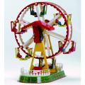 ヴィレスコのぜんまい仕掛けのブリキの玩具★ヴィレスコ・かんらん車★おもちゃ アンティーク