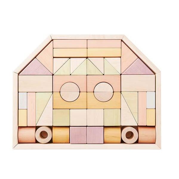 つみきのいえL 木のおもちゃ 木製 玩具 知育 積木 積み木 ツミキ 日本製