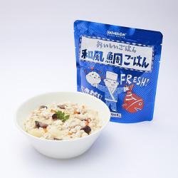 HOZONHOZON 長期保存対応食品 おいしいごはん 和風鯛ご飯