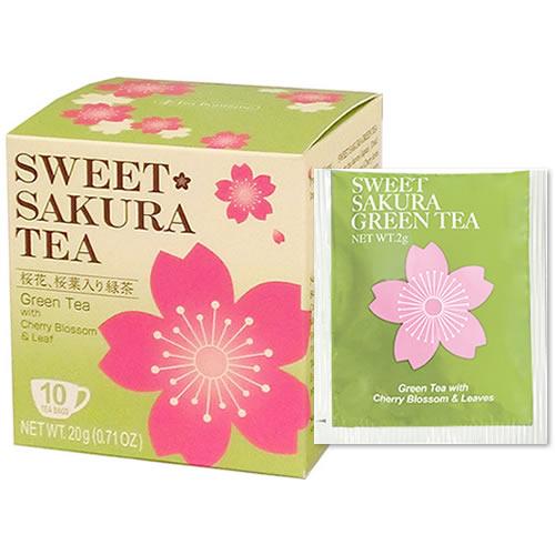 ティーブティック スイートサクラティー 緑茶(52022)