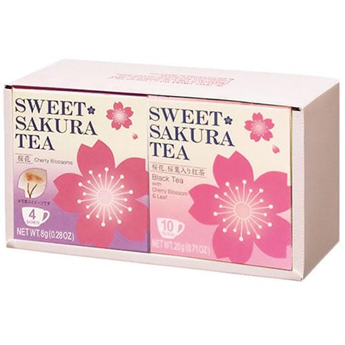 ティーブティック スイートサクラティー2個ギフトセット(桜花・紅茶)OK(52031)
