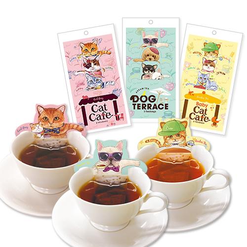 キャットカフェ 3種類 セット