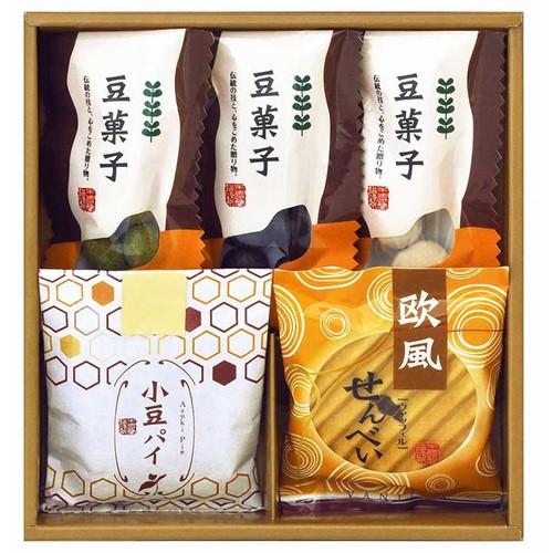 【送料無料】 小豆パイ・ヴァッフェル和菓子詰合せ