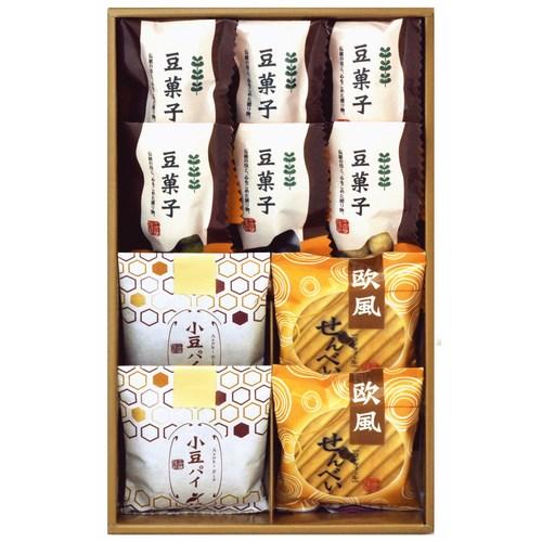 【送料無料】小豆パイ・ヴァッフェル和菓子詰合せ(W13-07)