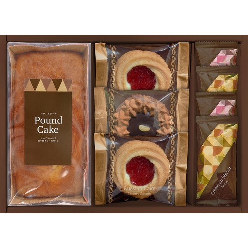 ロシアケーキ&焼き菓子セット ( 21A30-03 )