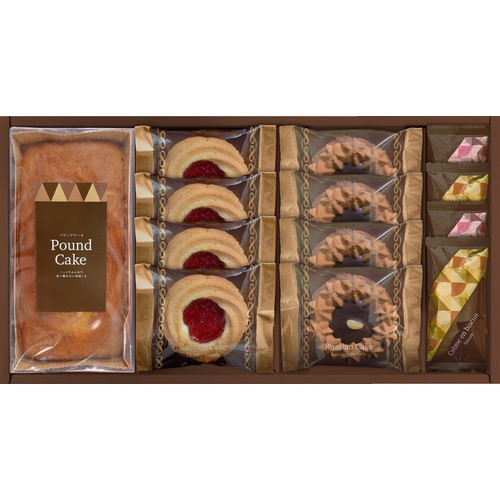 ロシアケーキ&焼き菓子セット ( 21A30-04 )