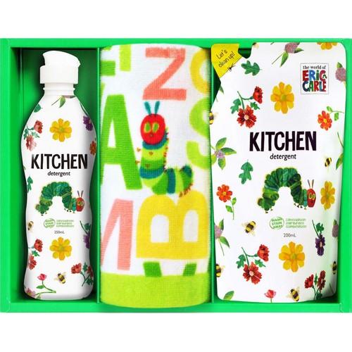 はらぺこあおむし キッチン洗剤タオルセット ( 21A43-04 )