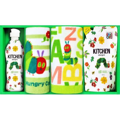 はらぺこあおむし キッチン洗剤タオルセット ( 21A43-05 )
