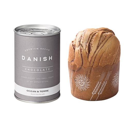 缶入りデニッシュパン チョコレート 1個(A251)