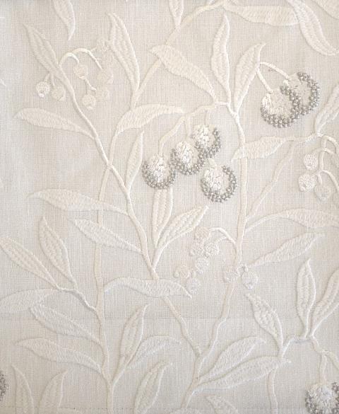 Pure Arbutus Embroidery236620 131cmx1M以上10cm単位でカット販売(海外取寄せ)