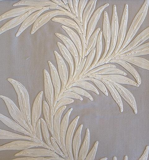 Pure Marigold trail Embroidery236630 132cmx1M以上10cm単位でカット販売(海外取寄せ)