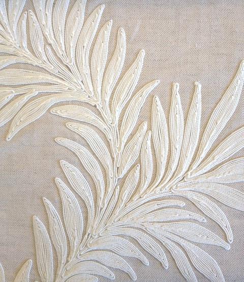 Pure Marigold trail Embroidery236631 132cmx1M以上10cm単位でカット販売(海外取寄せ)