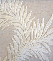 Pure Marigold trail Embroidery236631 132cmx1Mカットクロス(海外取寄せ)