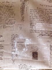 Manuscrit lin 約140cmx60cmカットクロス