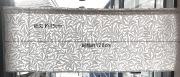 pure willow bough刺繍柄で作ったカフェカーテン約128cmx45cm