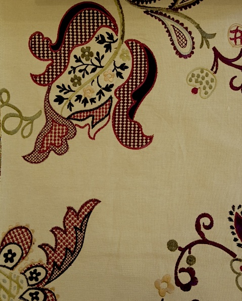 Roslyn Embroidery DVIPRE301 137cmx1Mカットクロス(海外取寄せ) 会員登録+2枚以上でさらに5%OFF!