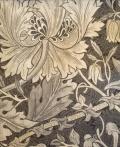 Pure Honeysuckle & Tulip(プリント版) 226482  140cmx1M以上10cm単位でカット販売(海外取寄せ)