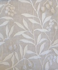 Pure Arbutus Embroidery236619 131cmx1Mカットクロス(海外取寄せ)