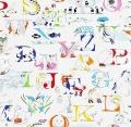 Alphabet zoo223910  140cmx1Mカットクロス(海外取寄せ)