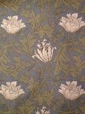 """MODA W.モリスコレクション""""Anemone #Blue110cm巾ツイル(10cmからカット致します) 会員登録+ご購入数10以上でさらに5%OFF!"""