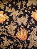 """MODA W.モリスコレクション""""Anemone #Orange110cm巾ツイル(10cmからカット致します) 会員登録+ご購入数10以上でさらに5%OFF!"""