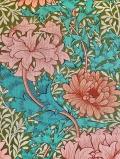 """クイーンスクエアコレクションより""""Chrysanthemum226855 137.2cmx50cm以上10cm単位でカット販売1m以上+会員登録で5%OFF (海外取寄せ)"""
