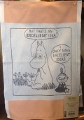 スエーデン エーケルンドキッチンクロスムーミンシリーズ「Excelent Idea」