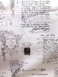 Manuscrit blanc 約140cmx60cmカットクロス