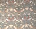 """MODA W.モリスコレクション""""いちご泥棒ブラウン"""" 110cm巾シーチング(10cmからカット致します) 会員登録+ご購入数10以上でさらに5%OFF!"""