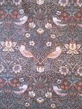 """MODA W.モリスコレクション""""いちご泥棒グリーン"""" 110cm巾シーチング(10cmからカット致します) 会員登録+ご購入数10以上でさらに5%OFF!"""