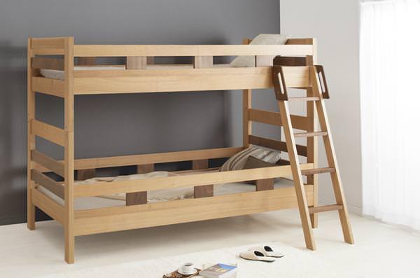 天然木2段ベッド【Silvano】シルヴァーノ フレームの