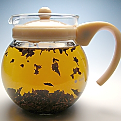 紅茶ポット、ジャンピングティーポット