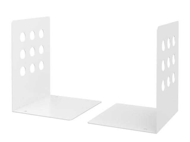 【5組セット】ブックエンド ホワイト (TBE-LW)